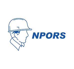 NPORS accrediation logo