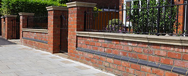 hard landscaping example brickwork