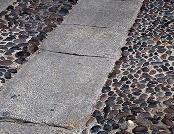 natural stone conservation kerbing